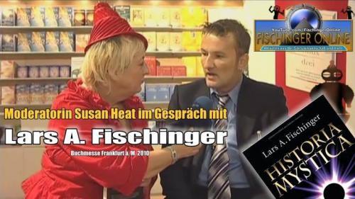 Lars A. Fischinger im Interview 2010 (Bild: L.A. Fischinger)VIDEO: iPhone, eBooks, neue Medien & die alten Mysterien der Menschheit: Interview von Susan Heat mit Lars A Fischinger auf der Buchmesse Frankfurt 2010