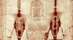 """Ausschnitt vom """"Turiner Grabtuch"""" - Jahre der Forschung sind noch nötig (Bild: gemeinfrei)"""