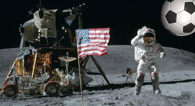 FIFA-Skandal und Mondlandungen - Moskau forderte eine Untersuchung der NASA-Mondmissionen (Bild: NASA / L.A. Fischinger)