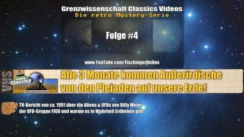 Grenzwissenschaft CLASSICS #4: Alle 3 Monate kommen Aliens der Plejaden zur Erde! TV-Bericht 1991 (Bild: L.A. Fischinger)