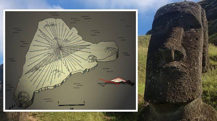 """Moai auf der Osterinsel: Weisen sie wirklich den Weg zu einer """"versteckten Botschaft?"""