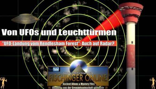Rendlesham Forest: UFO-Landung 1980 per Radar bestätigt? (Bild: gemeinfrei & L.A. Fischinger)