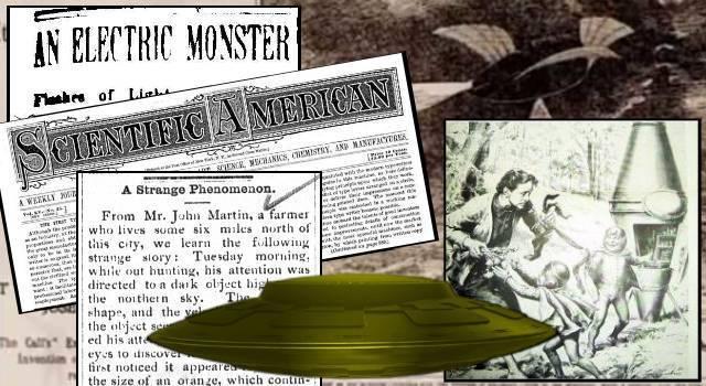 Das UFO-Phänomen - Mindestens Jahrhunderte alt (Bild: gemeinfrei / Collage: L.A. Fischinger)