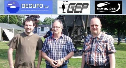 """""""Deutschen Kooperationsinitiative UFO-Forschung"""" von DEGUFO MUFON-CES und GEP"""
