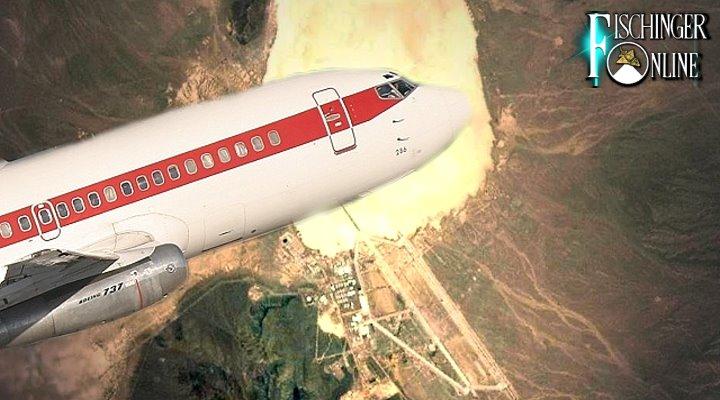 Von Las Vegas einmal Oneway in die Area 51, bitte: Die US-Fluglinie JANET (Bild: gemeinfrei / Montage: Fischinger-Online)