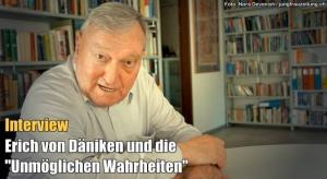 """Erich von Däniken im Interview: """"Ich will das Denken verändern"""" (Bild: R. Harder / Jungfrau Zeitung)"""