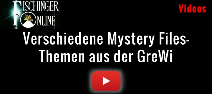 Verschiedene Mystery Files und Themen aus der Grenzwissenschaft