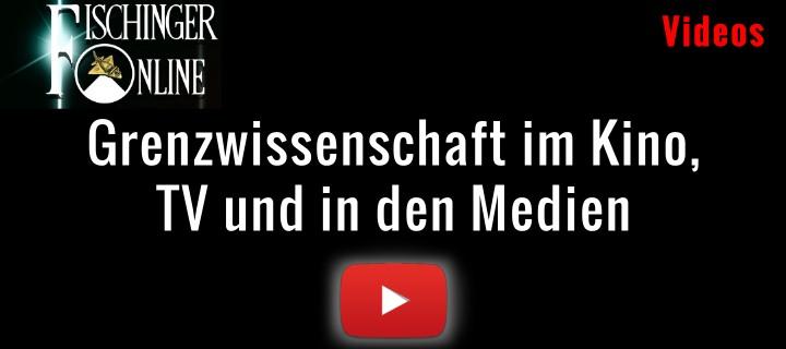 YouTube-Videos von Lars A. Fischinger zu Themen der Grenzwissenschaft im TV, Kino und den Medien