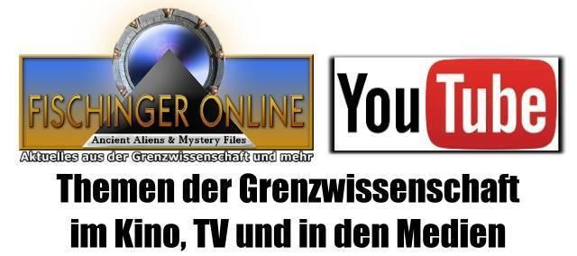 YouTube-Videos von Lars A. Fischinger zu Themen der Grenzwissenschaft im TV, Kino und den Medien (Bild: L.A. Fischinger / YouTube)