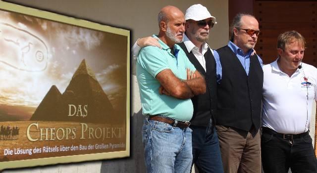 """""""Das Cheops-Projekt"""": Die Referenten (Bild: L.A. Fischinger)"""