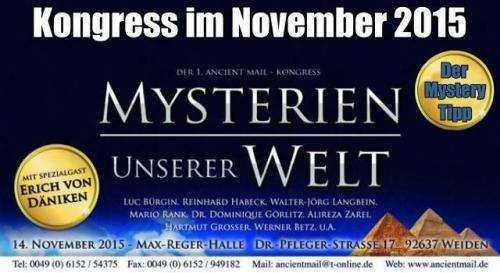 """""""Mysterien unser Welt""""-Kongress (Bild: M. Rank / W. Betz / L.A. Fischinger)"""