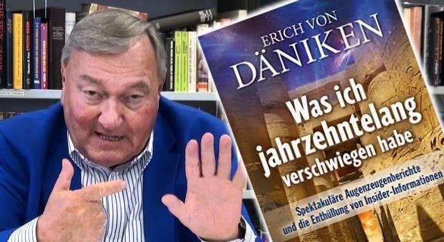 Neues Buch von Erich von Däniken - Was ich jahrzehntelang verschwiegen habe