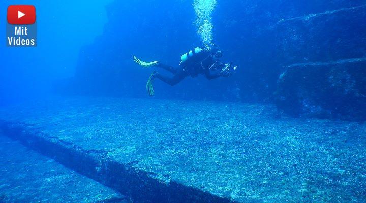 """Das Monument von Yonaguni: Interview mit einem Geologen zu """"Japans versunkenen Atlantis"""" (Bild: WikiCommons/Melkov CCO1.0)"""