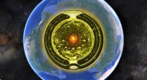 """Aufbruch in die innere Erde: Deutsche Hohle Erde-Expedition in das Erdinnere wollte """"Agartha"""" finden – doch die Crowdfunding-Finanzierung scheiterte! (Bild: Google Earth / gemeinfrei / Montage L. A. Fischinger)"""