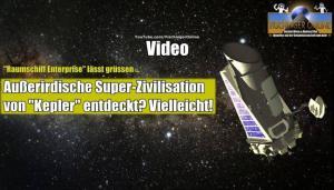 """VIDEO: Fand das Teleskop """"Kepler"""" eine außerirdische Super-Zivilisation? (Bild: NASA / gemeinfrei / Montage: L.A. Fischinger)"""