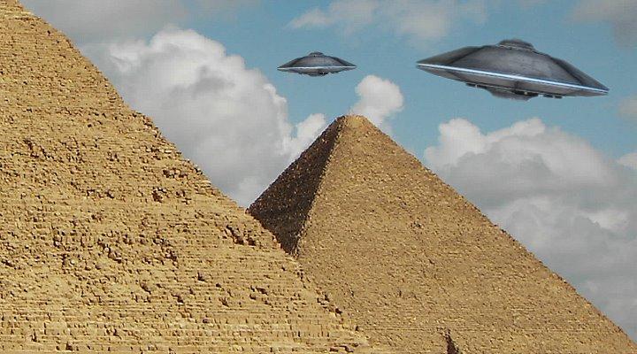 Das Rätsel der Cheops-Pyramide: Haben Aliens sie gebaut? (Bild: L. A. Fischinger)