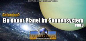 """Neues YouTube-Video: """"Planet Nine"""": Neuer Planet in unserem Sonnensystem gefunden? Und das böse N-Wort … Nibiru!"""
