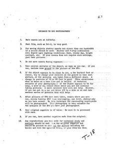 CIA-Papier von 1960: 10 Tipps für die perfekten UFO-Fotos (Bild: gemeinfrei)