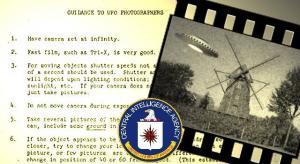 Wie macht man perfekte UFO-Fotos? Die CIA gab vor ca. 55 Jahren ihren Mitarbeiten dazu 10 nützliche Tipps mit auf den Weg (Bild: gemeinfrei / Heimatverein Lette / Montage: L. A. Fischinger)