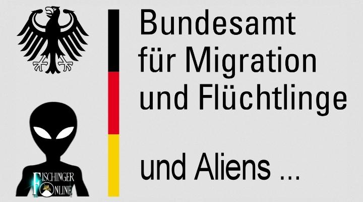 ARTIKEL: Dauerstreitthema Flüchtlingskrise: Aber bekommen eigentlich auch echte Aliens im Sinne von Außerirdischen bei uns Asyl? Interessante Spekulationen … (Bild: gemeinfrei / Montage: L. A. Fischinger)