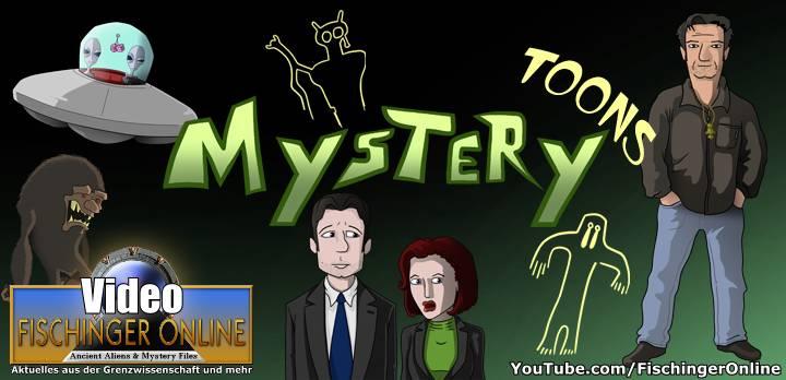 """Neue Serie: """"Mystery Toons"""" - die Grenzwissenschaft auf die Schippe genommen. (Bild: H. Stehr / Deep Xcursion)"""