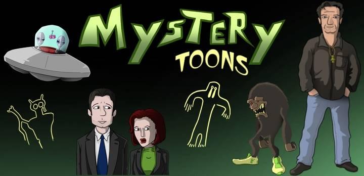 Mystery trifft Cartoon - Die Welt der Grenzwissenschaft mit Lars A. Fischinger auf die Schippe genommen (Bild: H. Stehr / Deep Xcursion.de)