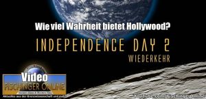 """Angriff der Aliens: """"Independence Day 2"""". Wie viel Wahrheit steckt im neuen Film von Roland Emmerich? (Bild: NASA / Montage: L. A. Fischinger)"""