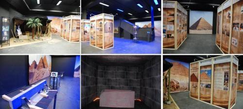 """Ausstellung """"Das Eisen der Pharaonen"""" im Galileo-Park Lennestadt (Bild: D. Görlitz)"""