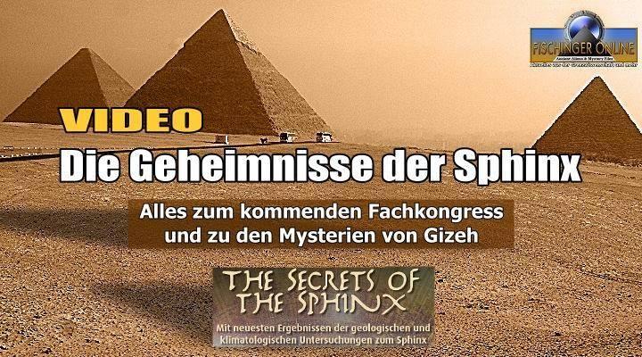 Die Geheimnisse der Sphinx, die Rätsel der Cheops-Pyramide und das Cheops-Projekt: Internationaler Kongress im Sauerland (Bild: L. A. Fischinger)