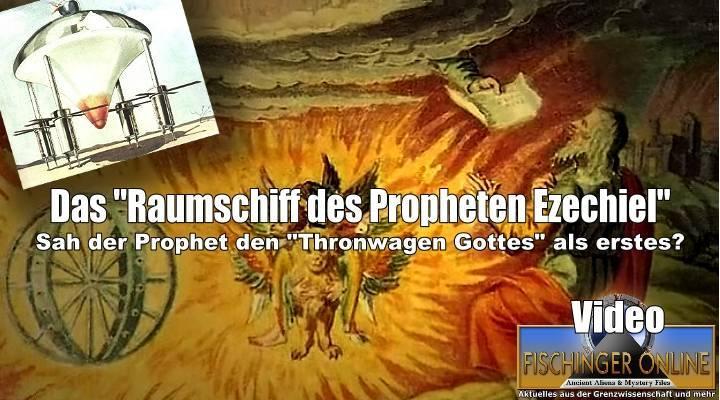"""VIDEO: War der Prophet Ezechiel im Alten Testament """"der erste"""", der einen Thronwagen Gottes sah? (Bild: gemeinfrei / Fischinger-Online / Archiv E. v. Däniken)"""