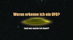 Woran erkenne ich ich ein UFO – und was soll ich machen, wenn ich eines sehe? (Bild: L. A. Fischinger)