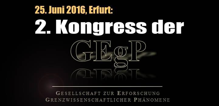 Am 25. Juni 2016 findet in Erfurt der 2. Kongress der GEgP statt (Bild: Ch. Wellmann / L. A. Fischinger)