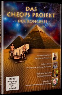 """Dominique Görlitz und Stefan Erdmann: """"Das Cheops Projekt - Der Kongress"""" (DVD)"""
