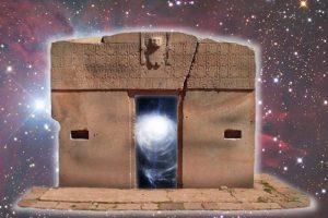 Leinwanddruck: Das Stargate von Tiahuanaco