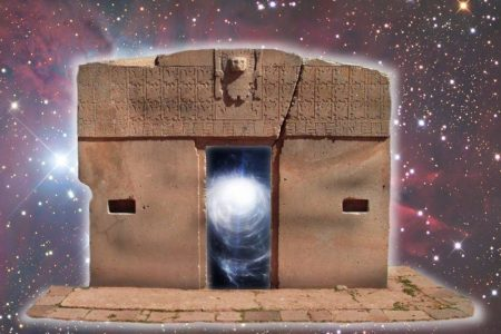"""Leinwand-Druck: Das Sonnentor von Tiahuanaco als """"Stargate"""""""
