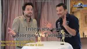Interview mit Giorgio A. Tsoukalos - Die Ancient Aliens, das TV der USA und die Fans hier und dort