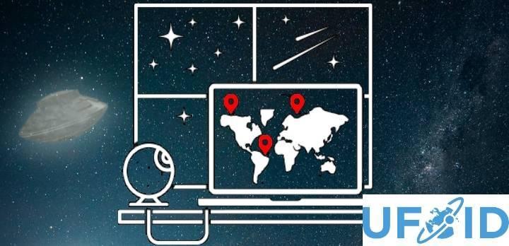 Auf UFO-Jagd - bequem von zu hause aus - Eine UFO-Detector Software soll es jetzt möglich machen (Bild: NASA / UFOid.net / Montage: L. A. Fischinger)