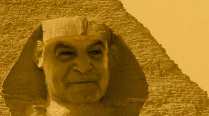ARTIKEL: Das Grab des Osiris von Gizeh: Wie Ägyptens letzter Pharao Zahi Hawass einen fast 100 Jahre alten Fund als seine Entdeckung präsentierte (Bild: L. A. Fischinger)