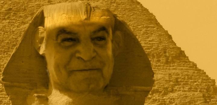 Das Grab des Osiris von Gizeh: Wie Ägyptens letzter Pharao Zahi Hawass einen fast 100 Jahre alten Fund als seine Entdeckung präsentierte (Bild: L. A. Fischinger)