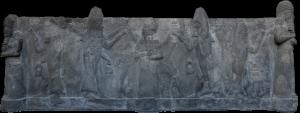 Gott Oannes auf einem Wasserbecken (Pergamon Museum Berlin - Bild: L. A. Fischinger)