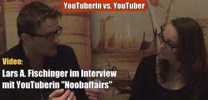 """VIDEO auf YouTube: YouTuberin """"Noobaffairstalk"""" im Interview mit Lars A Fischinger Gott, Leben nach dem Tod, Aliens und Geister/Spuk (Bild: Noobaffairs / YouTube-Sceenshot)"""
