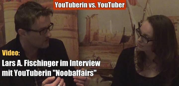 Noobaffairstalk mit Lars A Fischinger über die Area 51, Gott, Aliens und Geister (Bild: Noobaffairs / YouTube-Sceenshot)