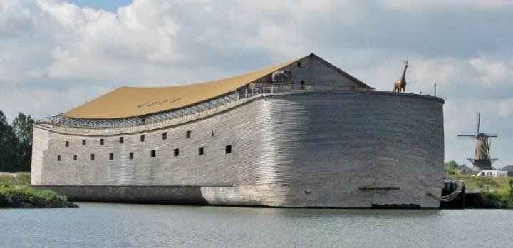 Mit einem Nachbau der Arche Noah von den Niederlanden zu den Olympischen Spielen nach Brasilien (Bild:_ Ark of Noah Foundation)