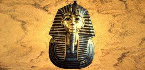 Die berühmte Totenmaske des Pharao Tutanchamun - welche Geheimnisse verbergen sich in seinem Grab? (Bild: gemeinfrei / L. A. Fischinger)