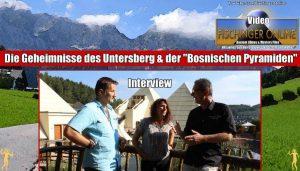 Interview mit Werner Betz & Sonja Ampssler: Die Geheimnisse des Untersberg & der Bosnischen Pyramiden: Unbekannte Energien an uralten Kraftorten – physikalisch nachweisbar? (Bild: L.A. Fischinger)