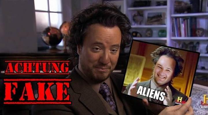 Wie gefährlich sind Fakes im Internet und Sozialen Netzwerken? (Bild: L. A. Fischinger / History Channel)
