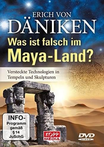 """Erich von Däniken: """"Was ist falsch im Maya-Land? Versteckte Technologien in Tempeln und Skulpturen"""" (DVD)"""
