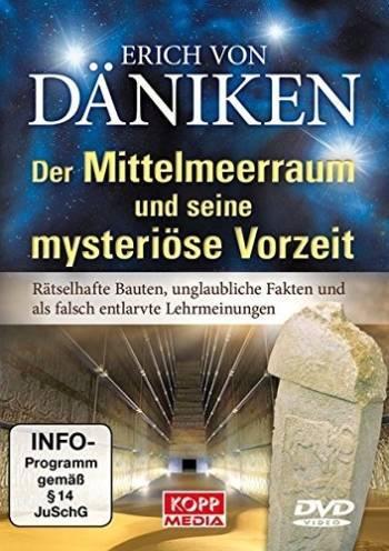 """Erich von Däniken: """"Der Mittelmeerraum und seine mysteriöse Vorzeit"""" (DVD)"""