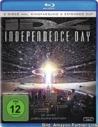 """Independence Day – Extended Cut"" (DVD / Blu-ray)"