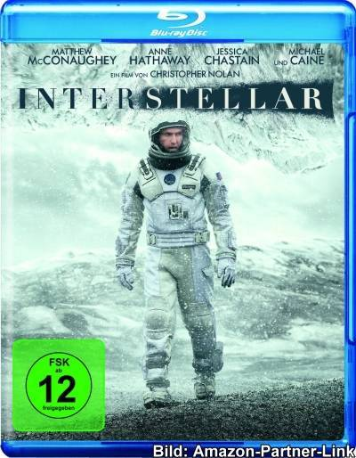 """Interstellar"" (DVD / Blu-ray)"